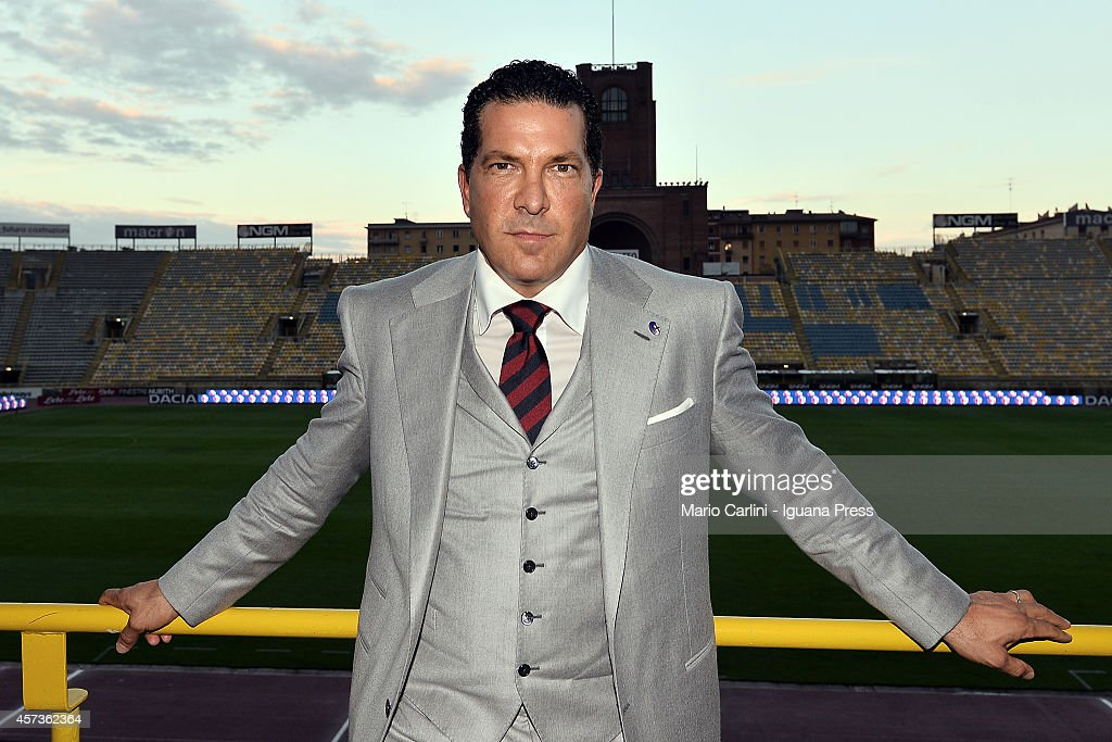 Joe Tacopina new President of Bologna FC stands on the