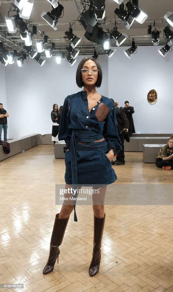 Jourdan Dunn attends the JW Anderson show during London Fashion Week... News Photo | Getty Images