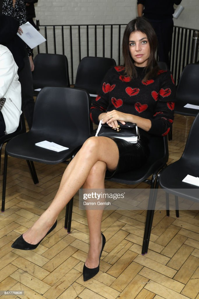Julia Restoin Roitfeld attends the JW Anderson show during London... News Photo - Getty Images
