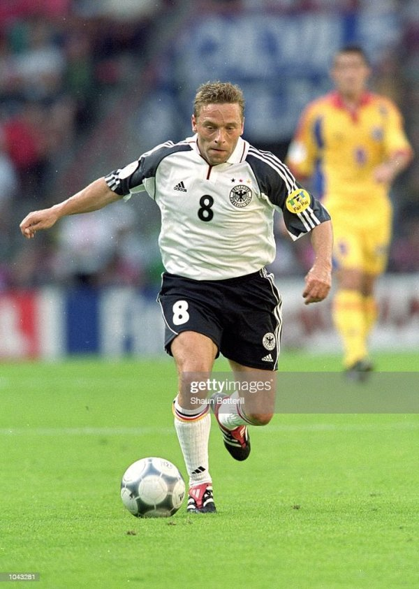 Euro 2000 Germany v Romania Group Stage Getty Images