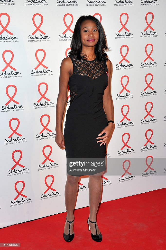Kady Adoum-douass : adoum-douass, Adoum, Douass, Attends, Sidaction, Launch, Party, Photocall..., Photo, Getty, Images