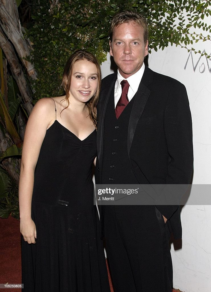 Kiefer Sutherland Daughter Stock Photos and Pictures