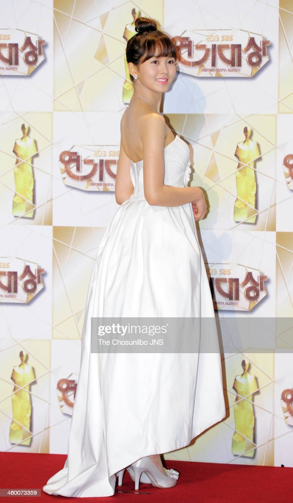 Kim So-Hyun arrives at the red carpet of the 2013 SBS drama awards at... News Photo - Getty Images