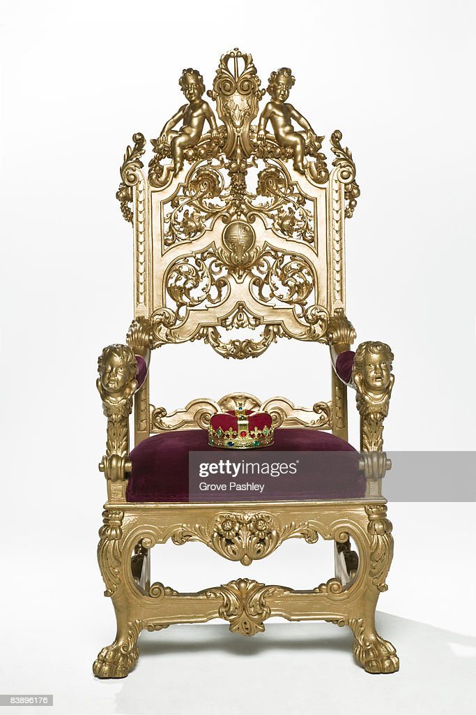 Crown Royal Throne Chair Stock Photos and Pictures