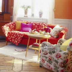 Kitschy Living Room Small Open Plan Kitchen Staircase Kitsch Stock Photo Getty Images