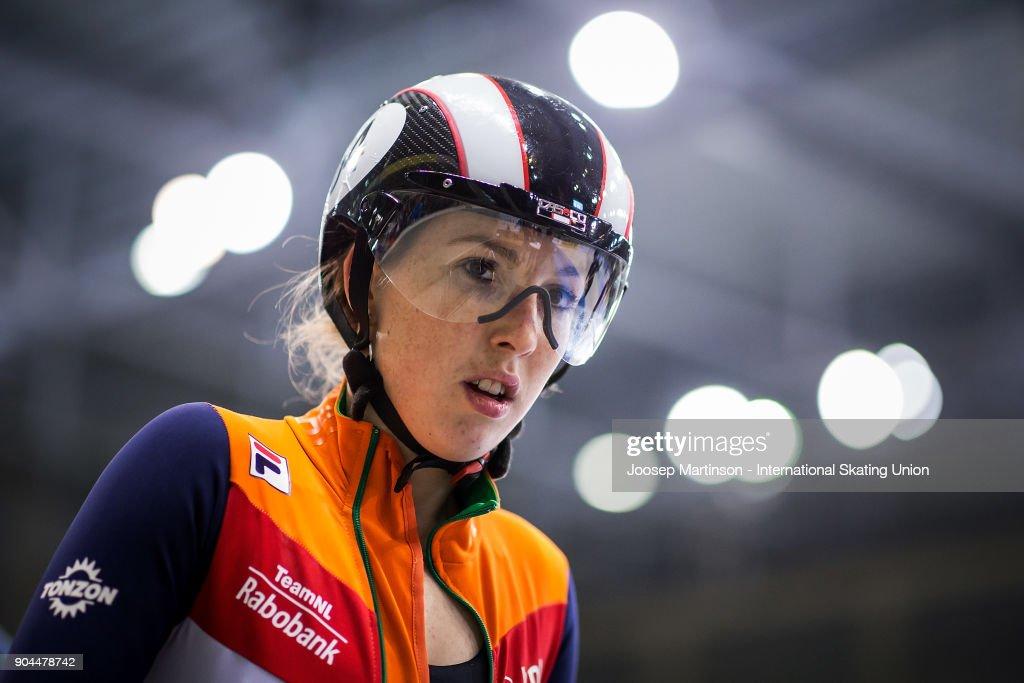 Lara Van Ruijven Of Netherlands Prepares In The Ladies