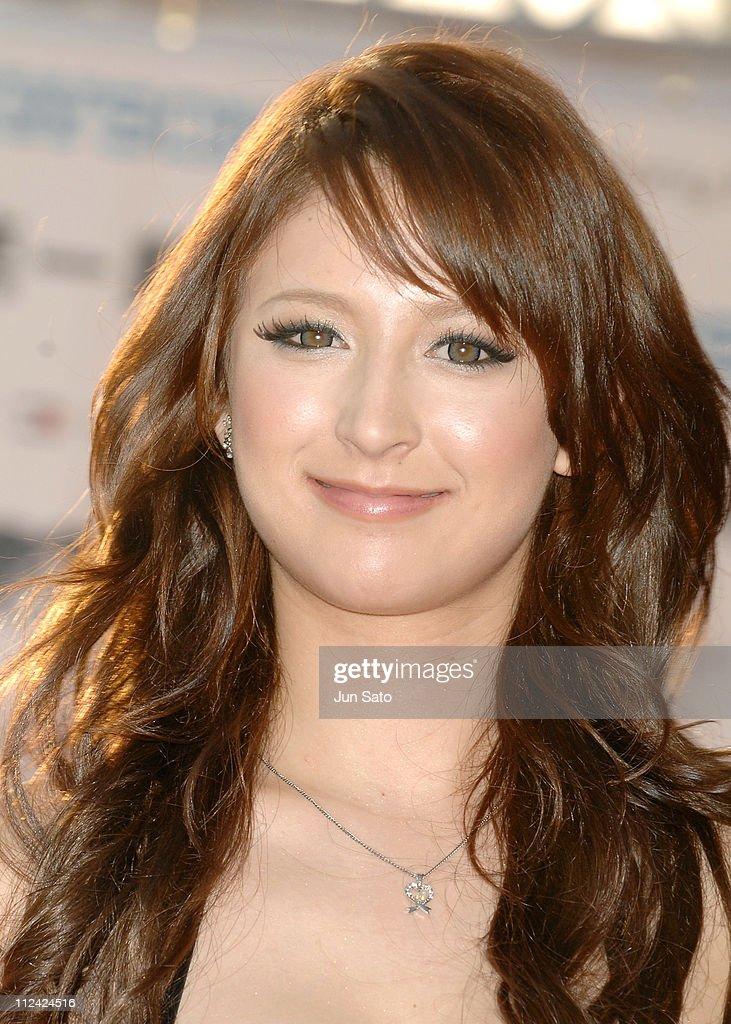 Leah Dizon during MTV Video Music Awards Japan 2007 - Red Carpet at... News Photo - Getty Images