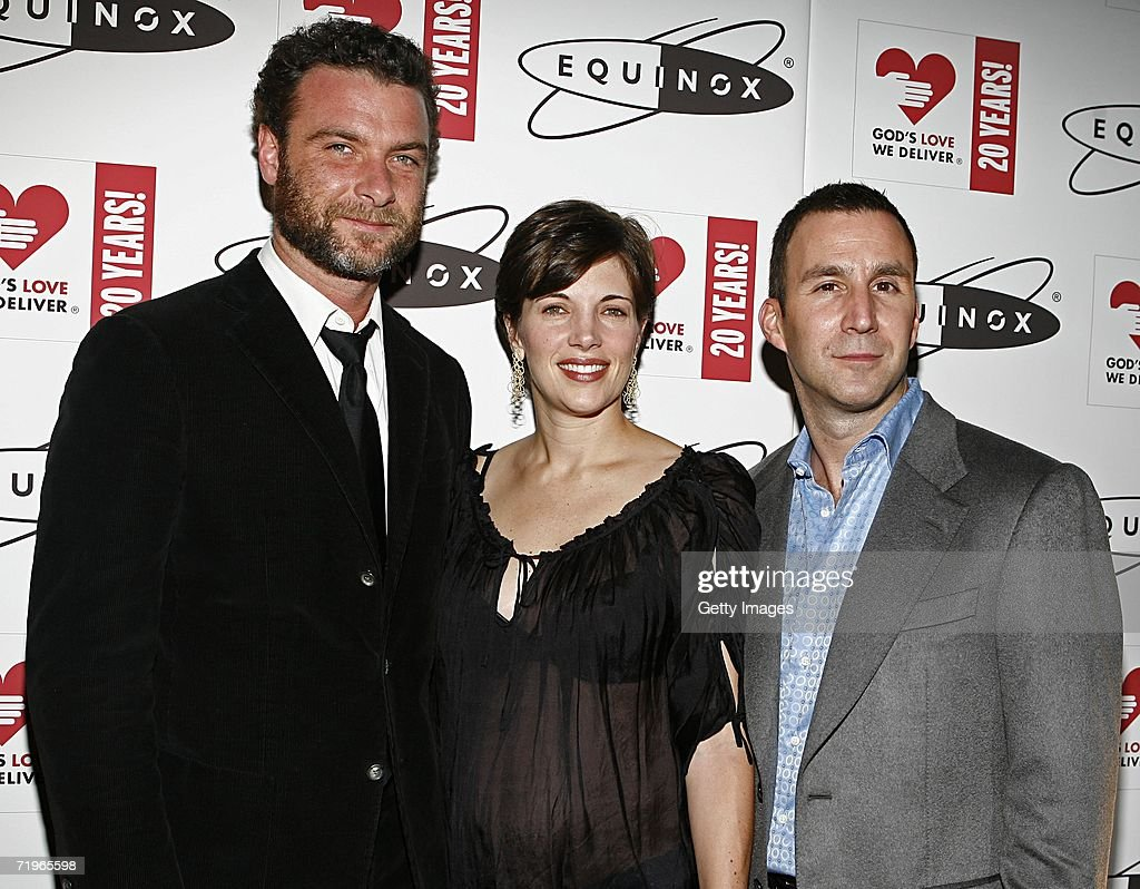 Liev Schreiber. Rhonda Spevak and Harvey Spevak. CEO of Equinox... News Photo - Getty Images