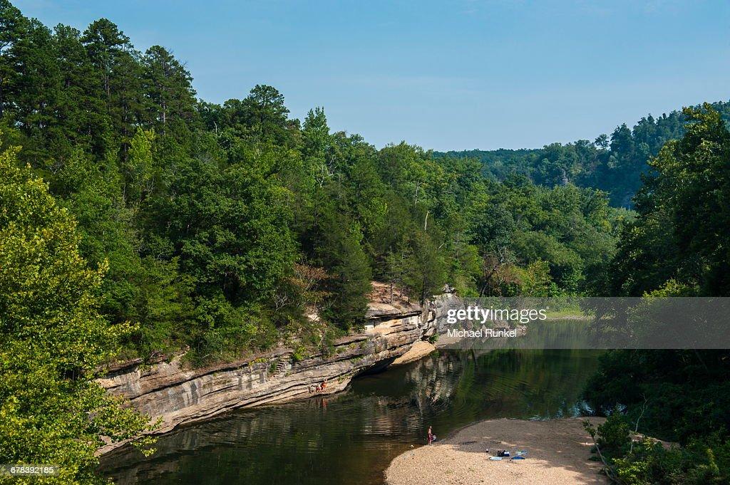 Little Missouri River Ozark National Forest Arkansas United