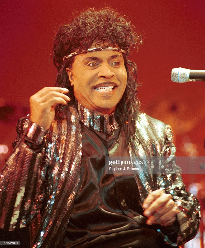 Little Richard Performs On The Green In New Haven Ct