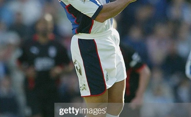 Lorenzo Amoruso Of Blackburn Heads The Ball During The Fa