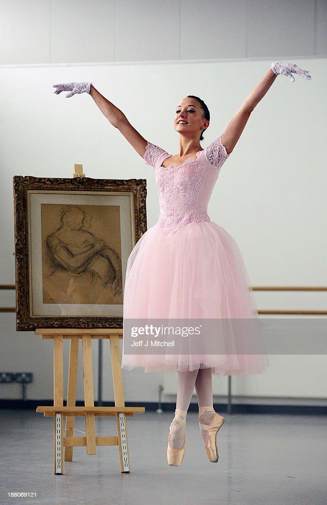 Famous Paintings Degas Ballerina Sketch