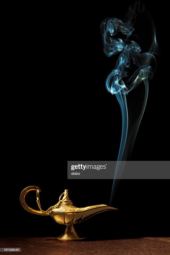 Magic Lamp Stock Photos and Pictures