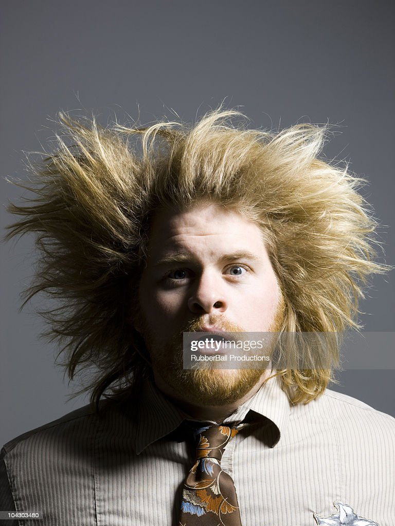 Hair Standing On End Stock Photos and Pictures  Getty Images