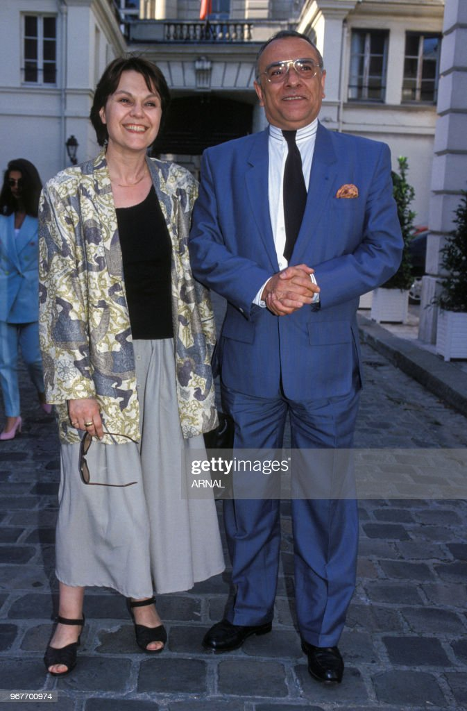 Yves Mourousi Et Marie Laure Augry : mourousi, marie, laure, augry, Marie-Laure, Augry, Mourousi, Remise, Légion..., Photo, Getty, Images