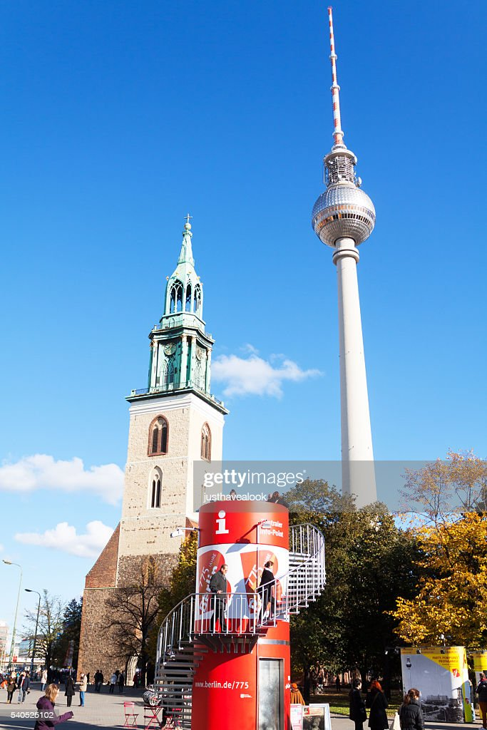 marienkirche and television tower