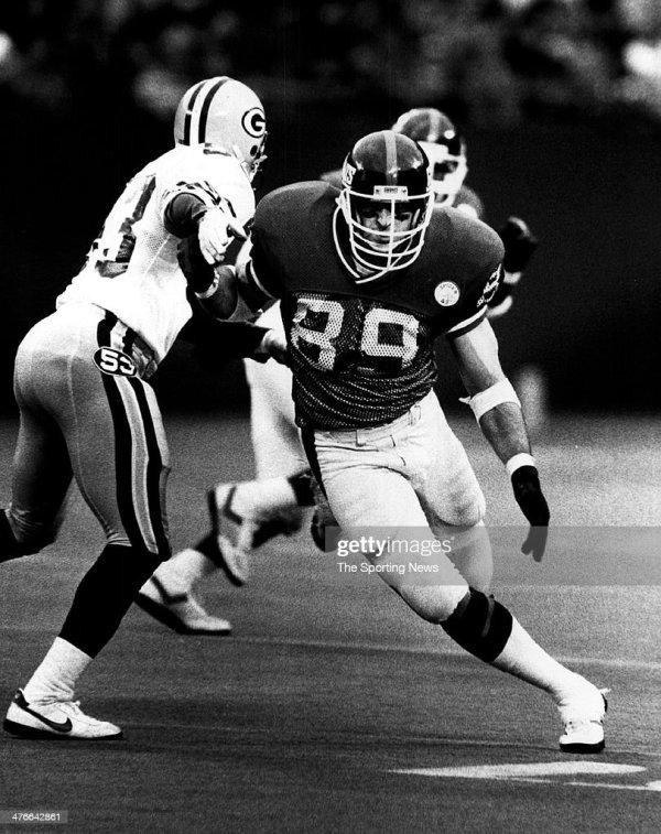 Mark Bavaro Of York Giants Circa 1986