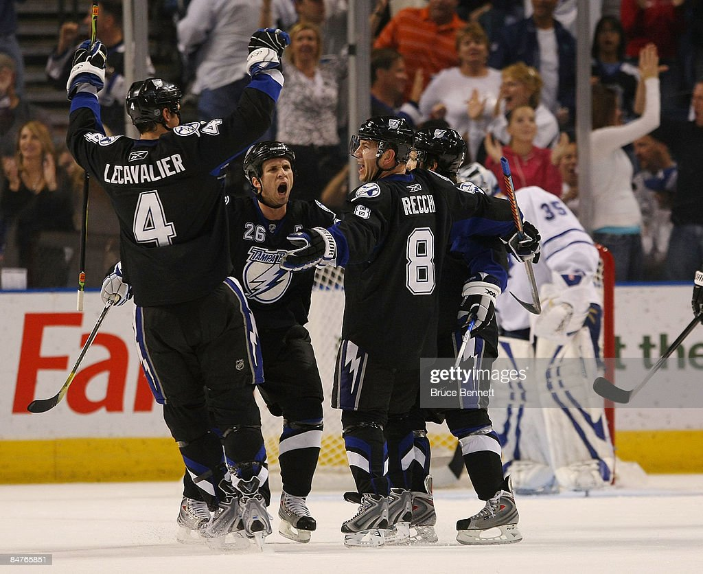 toronto maple leafs v tampa bay lightning photos and images