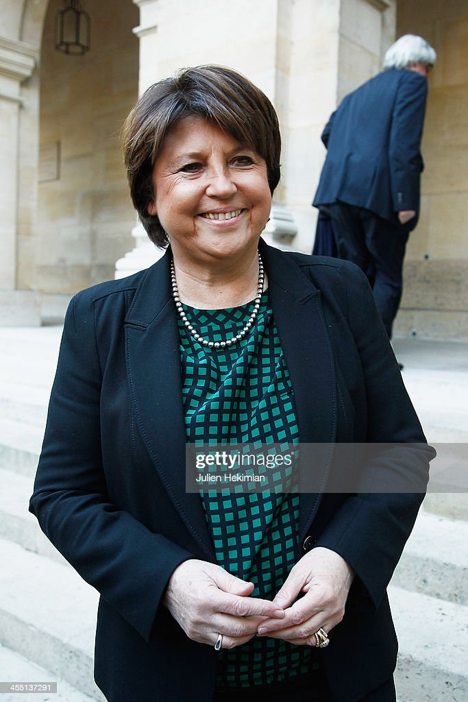 Martine Aubry Stock Photos And Pictures Getty Images