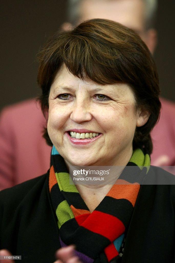 Martine Aubry Met Socialist Activists Of The Pas De Calais