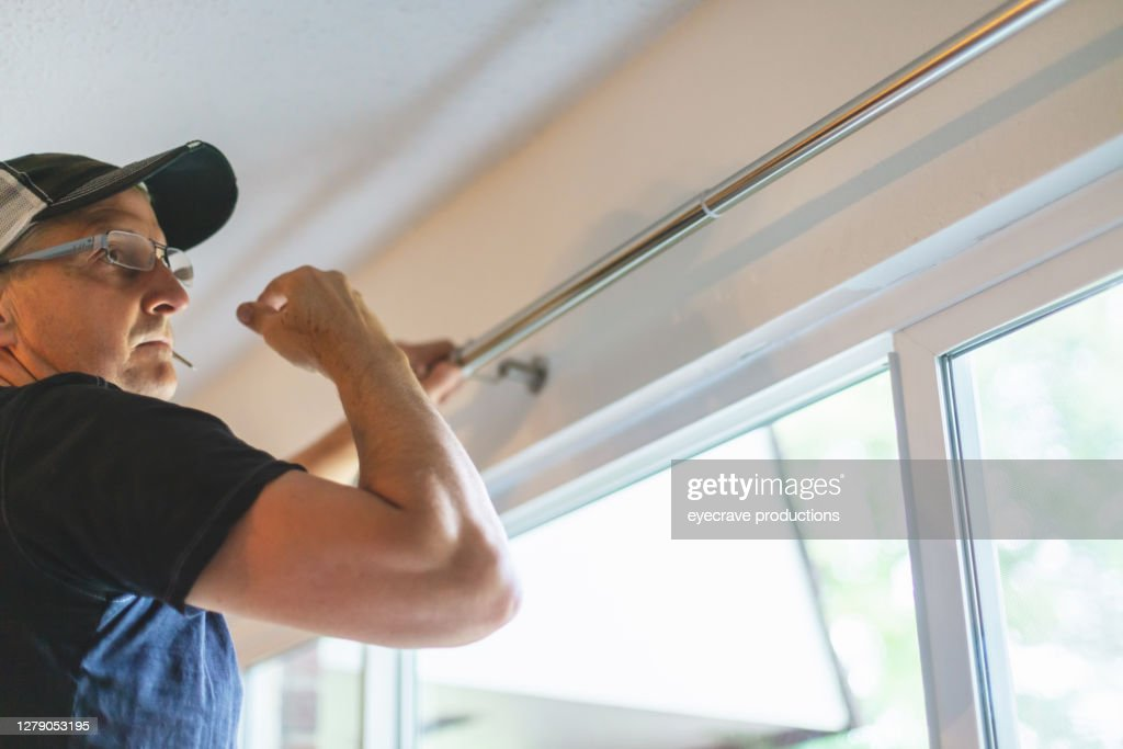 21 window curtain rod photos and premium high res pictures getty images