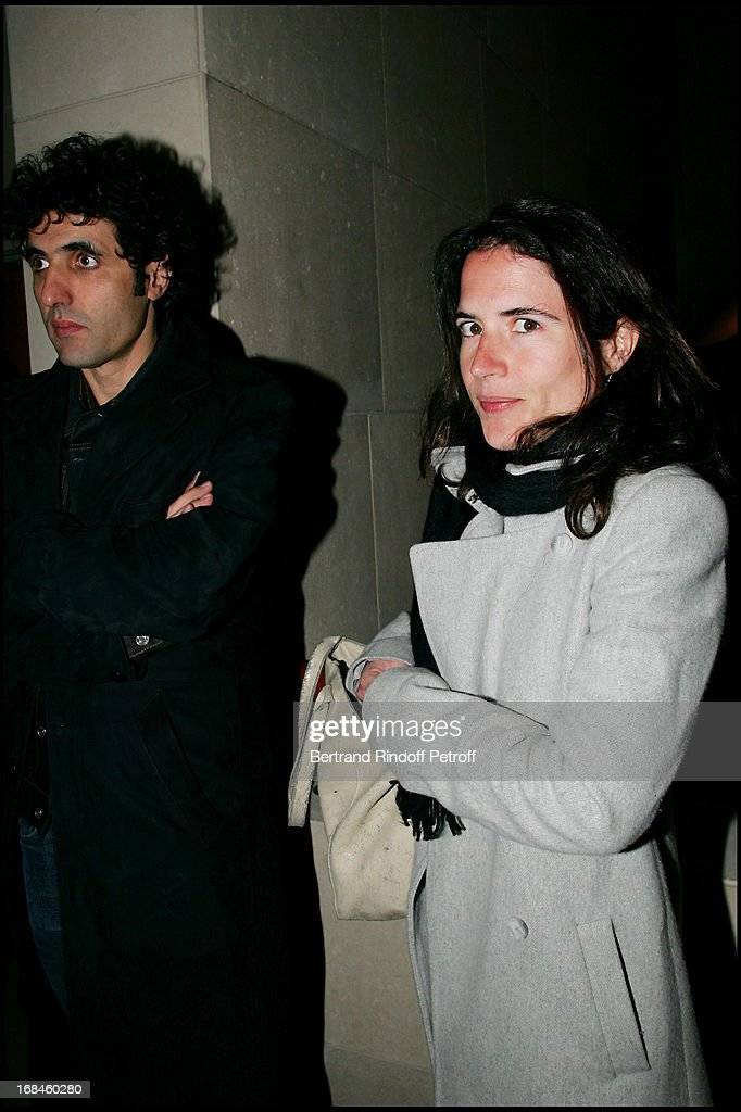 Mohamed Ulad-mohand : mohamed, ulad-mohand, Mazarine, Pingeot, Mitterrand, Partner, Mohammed, Mohand, At..., Photo, Getty, Images