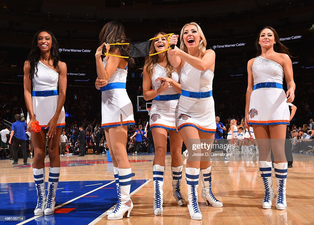 Knicks City Dancers Stock Photos and Pictures Getty Images