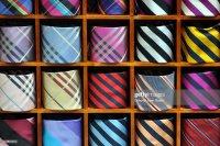 Mens Neckties Stock Photo