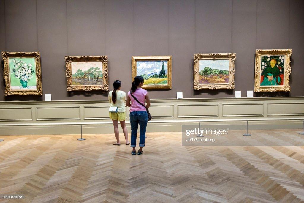 Metropolitan Museum of Art. Impressionism. Vincent van Gogh Gallery. News Photo - Getty Images