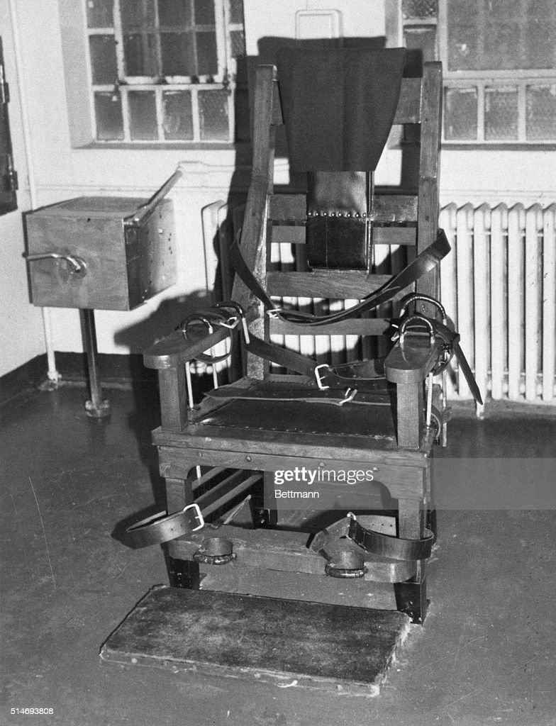 death by electric chair video tip ton review stock photos and pictures 1981 michigan city in the at prison where steven judy will