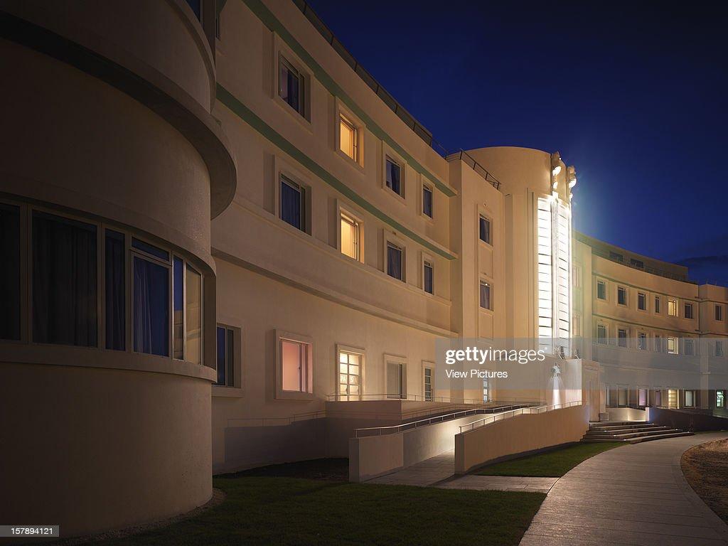 Midland Hotel Morecambe United Kingdom Architect Oliver
