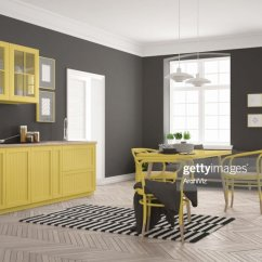 Dining Table In Living Room Pictures Pottery Barn Gallery Minimalist Modern Kitchen With And White Yellow Scandinavian Interior Design