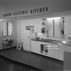 Model Kitchens Stainless Kitchen Island At Marshall Field Company Interiors Label Modern Electric News Photo