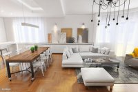 Modern Hipster Apartment Interior Stock Photo | Getty Images