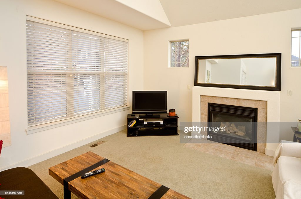 Modern Living Room With Furnishing Stock Photo  Getty Images