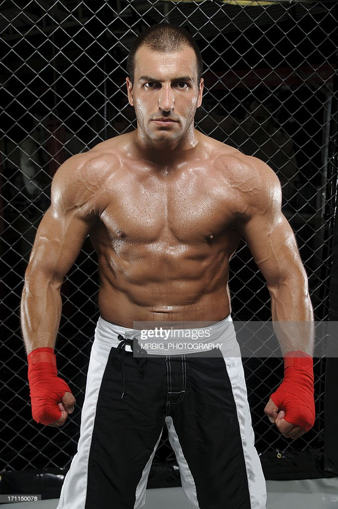 muscular mixed martial arts