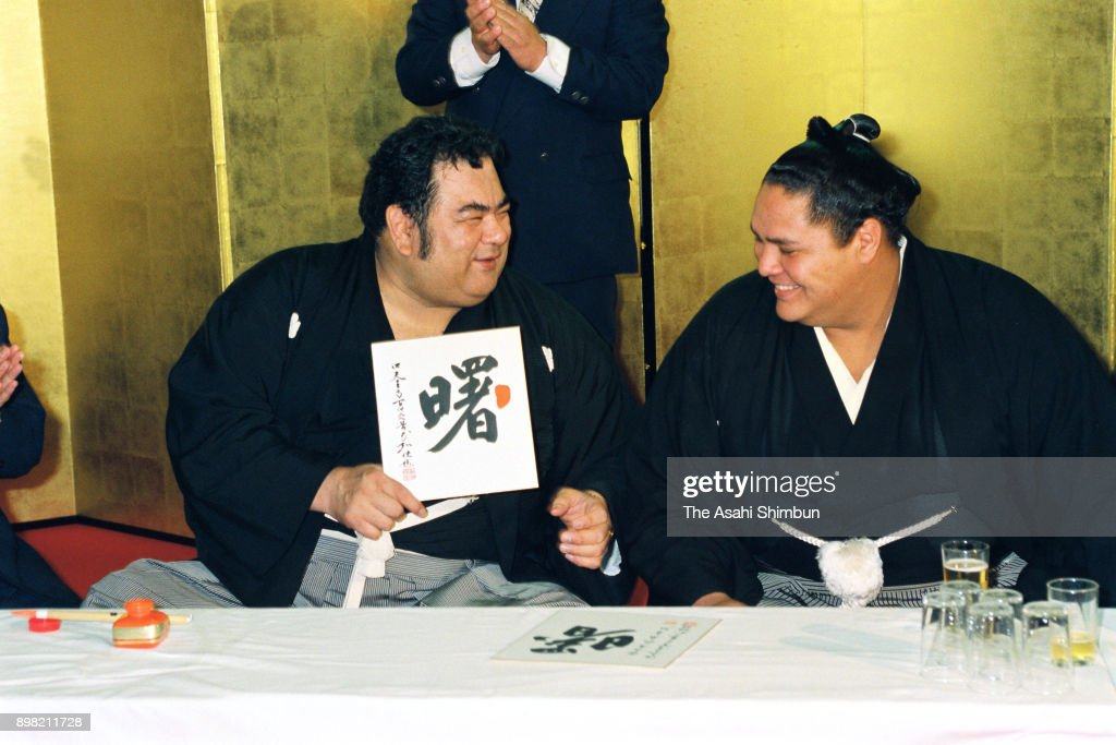 60點の相撲 親方の畫像/寫真/イメージ - Getty Images