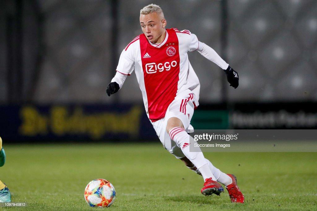 Noa Lang Of Ajax U23 During The Dutch Keuken Kampioen