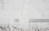 Old Painted White Brick Wall Background Pattern Design ...