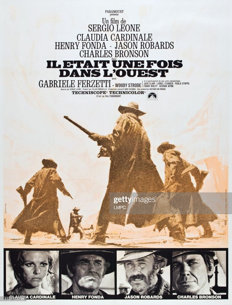 Il était Une Foi Dans L'ouest : était, l'ouest, West,, Poster,, ETAIT, DANS..., Photo, Getty, Images