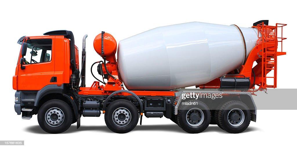 60 top cement truck