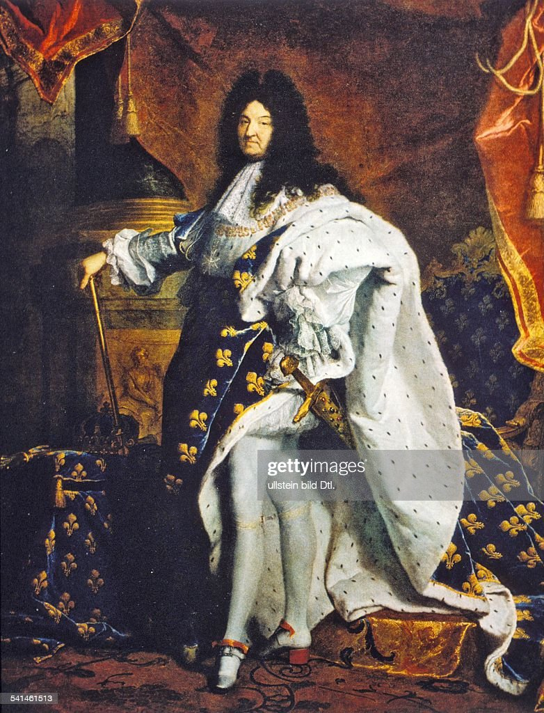 Paintings Louis XIV *05.09.1638-01.09.1715+ King of France 1643-1715... News Photo | Getty Images