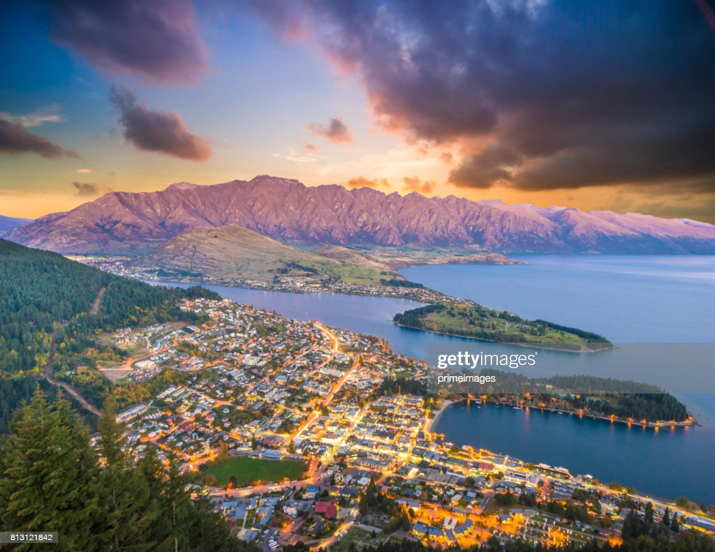 Queenstown New Zealand Stock Photos And Pictures Getty
