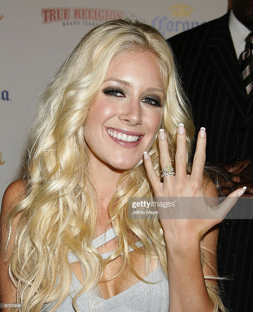 Heidi Montag Ring : heidi, montag, Personality, Heidi, Montag, Arrives, Maxim's, Annual, Hot..., Photo, Getty, Images
