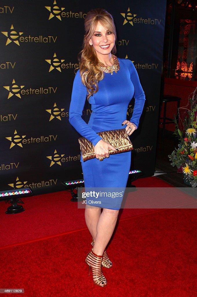 TV personality Myrka Dellanos attends Estrella TV
