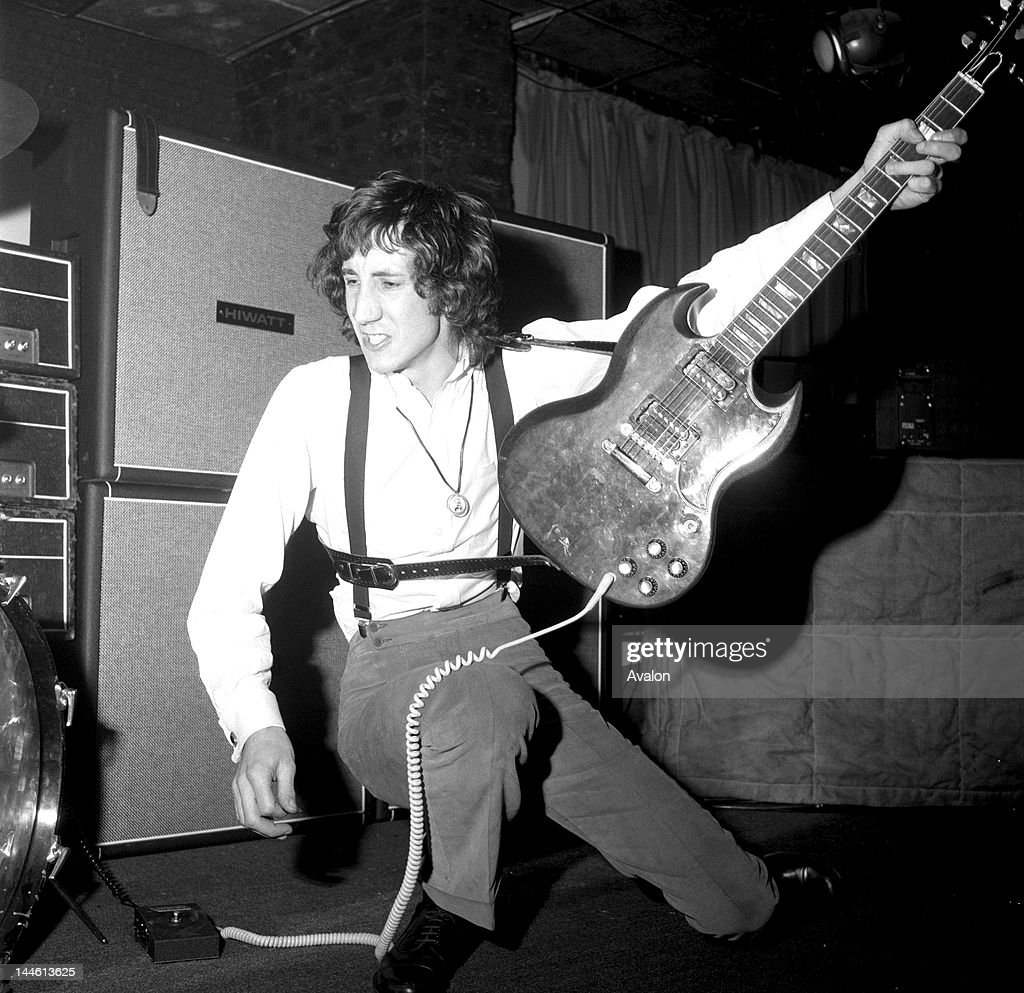 Pete Townshend of 'The Who' in May 1969.; News Photo ...