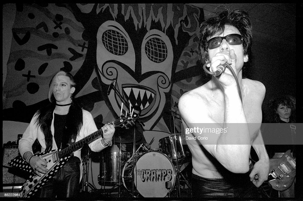 Photo of Lux INTERIOR and CRAMPS and Bryan GREGORY and