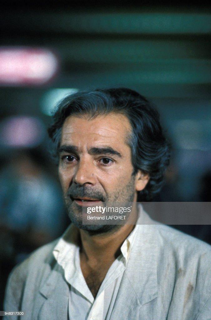 Rose pierre arditi ® meicalanq. Pierre Arditi lors d'un tournage en juin 1989 à Paris ...