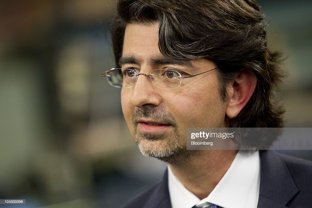 Pierre Omidyar chairman and founder of eBay Inc speaks