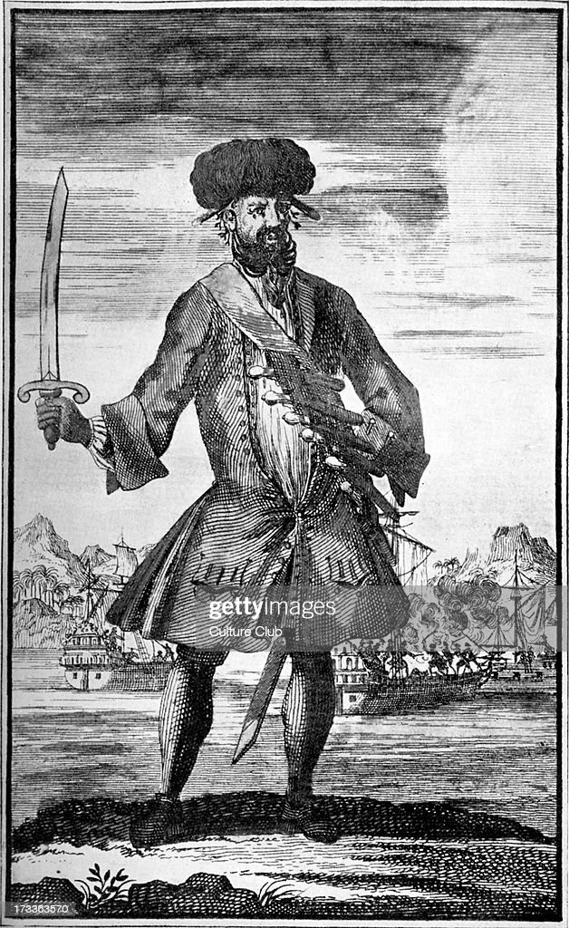 Blackbeard The Pirate Photos et images de collection   Getty Images